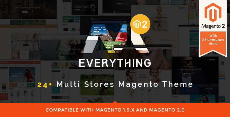 Everything - Magento 2 Theme
