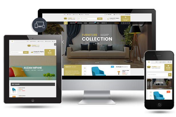 Furnicom - Fully Responsive